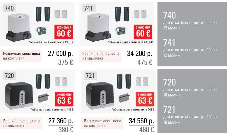 Спец. цены на привода для откатных ворота